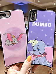 cheap -Case For Apple iPhone XS / iPhone XR / iPhone XS Max Pattern Back Cover Animal / Cartoon TPU / PC