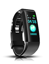 cheap -Indear 115 Men Women Smart Bracelet Smartwatch Android iOS Bluetooth Waterproof Touch Screen Heart Rate Monitor Blood Pressure Measurement Sports Timer Pedometer Call Reminder Activity Tracker Sleep