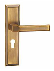 cheap -JH-ZHJ005 Door Levers Mechanical key Zinc Alloy