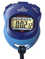 cheap -Men's Women's Sport Watch Stopwatch Japanese Digital Black 30 m Luminous New Design Alarm Clock Digital Outdoor New Arrival - Blue Two Years Battery Life