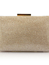 cheap -Women's Beading / Embroidery Synthetic Evening Bag Solid Color Black / Gold / Silver