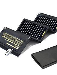 Недорогие -Солнечная батарея для Мобильный телефон Внешний аккумулятор Водонепроницаемый Перезаряжаемый Портативные Устойчивый к царапинам Этиленвинилацетат USB слот Отдых и Туризм / Рыбалка