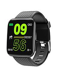 Недорогие -kimlink 116plus мужчины женщины smartwatch android ios bluetooth водонепроницаемый сенсорный экран монитор сердечного ритма измерение артериального давления спорт таймер шагомер вызов напоминание