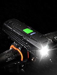 cheap -LED Bike Light Front Bike Light LED Mountain Bike MTB Bicycle Cycling Waterproof Multiple Modes Super Brightest Safety 18650 450 lm Rechargeable USB White Camping / Hiking / Caving Cycling / Bike