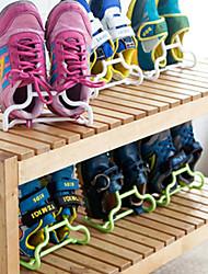 cheap -Shoes Rack & Hanger Plastics 2 Pairs Unisex Blue