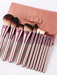 cheap -Professional Makeup Brushes 12pcs Soft New Design Adorable Comfy Wooden / Bamboo for Makeup Brush