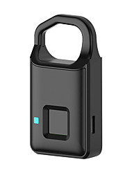 cheap -Portable Smart Fingerprint Keyless Phone APP Padlock Door Lock