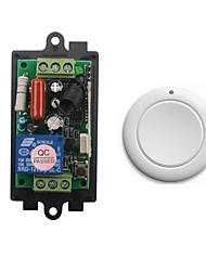 abordables -ac220v 1ch 10a relais interrupteur de commande à distance / récepteur de code d'apprentissage / led / récepteur de lampe / bascule façon de travail / 433 mhz