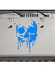 cheap -Fashion Car Body DIY Waterproof Bloody Skulls Stylish Decal Stickers Set