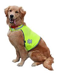Недорогие -Собаки Свитера Жилет Одежда для собак Зеленый Костюм Большая собака Хаски Лабрадор золотистого ретривера Полиэстер Однотонный Медведи Спорт и отдых Стиль S M L XL