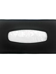 cheap -PU Leather Car Tissue Box Mounted On Sun Visor Car Styling Organizer