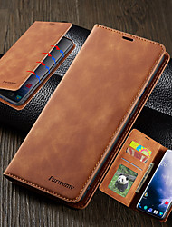 cheap -Luxury Case For One Plus 7 Pro One Plus 7 Phone Case Leather Flip Wallet Magnetic Cover With Card