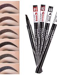 abordables -crayon à sourcils crayon à sourcils crayon à lèvres teinté stylo imperméable à l'eau 4 points