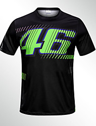 cheap -The new 2019 thin 46 MOTOGP black quick-drying off-road motorcycle riding short-sleeved racing knight fast-drying breathable wicking motorcycle men's T-shirt