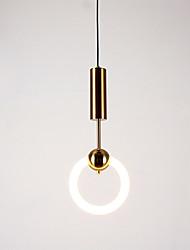 cheap -1-Light HEDUO 23 cm Pendant Light Metal Glass Island Retro Vintage / Nordic Style 110-120V / 220-240V