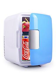Недорогие -Мини-холодильник Электрический кулер и теплее 4 L Один экземляр С теплоизоляцией за Полипропилен + ABS на открытом воздухе Отдых и Туризм Синий Розовый