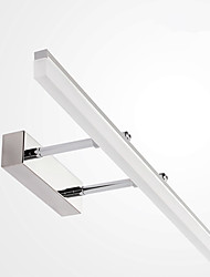 cheap -LED Vanity Lights Mirror Front Lamp 16W 27.6in Wall Lamp Arm Length Adjustable Make-up Mirror Front Light Waterproof IP66