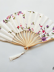 cheap -Hand Fans Chemical Fiber Split Joint Wedding