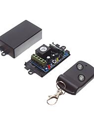 Недорогие -DC12V 1-канальный беспроводной пульт дистанционного управления переключатель / приемник обучающего кода реле с 10a реле / нет связи nc приемник 433 МГц