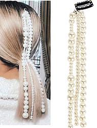 cheap -Women's Trendy Fashion Cute Imitation Pearl Hair Clip Party School