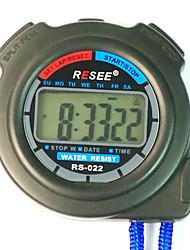 cheap -Men's Women's Sport Watch Stopwatch Japanese Digital Blue 30 m Chronograph Luminous New Design Digital Outdoor New Arrival - Black Two Years Battery Life