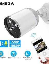 Недорогие -Inqmega 720p 1080p Wi-Fi IP-камера пуля Onvif Открытый WaterDichte CCTV камеры безопасности двустороннее аудио приложение удаленного просмотра карт TF