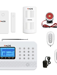 cheap -Wireless GSM Burglar Alarm System PSTN Alarm Dual-net Anti-theft Device