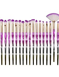 cheap -Professional Makeup Brushes 20pcs Soft New Design Sexy Lady Comfy Plastic for Makeup Brush