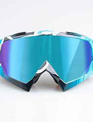 Недорогие -уникальные мотоциклетные очки для беговых лыж очки для езды на велосипеде очки для занятий спортом на открытом воздухе оправа colorblue черная оправа - разноцветные линзы