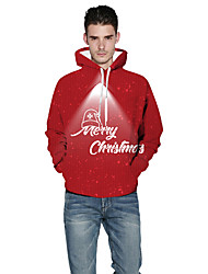 cheap -More Costumes Adults' Male Christmas Festival Christmas Festival / Holiday Terylene Red Male Easy Carnival Costumes Holiday