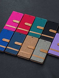 cheap -Case For Samsung Galaxy Note 9 / Note 8 / Galaxy Note 10 Wallet / Card Holder / Shockproof Full Body Cases Tile PU Leather