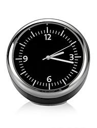 Недорогие -мини-автомобиль автомобильные цифровые часы авто часы автомобильный термометр гигрометр украшения украшение часы стиль черно белые часы