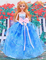 cheap -Doll Dress Party / Evening For Barbiedoll Organza Dress For Girl's Doll Toy