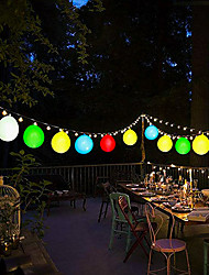 cheap -10Pcs Mini LED Party Balloons Lights Decoration White Light for Paper Lanterns Include Batteries