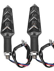 Недорогие -12v янтарный последовательный плавный светодиодный указатель поворота фары моторсыккель универсальный