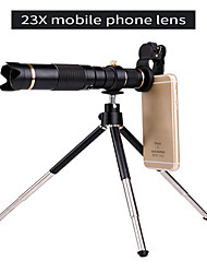 cheap -Universal Clip HD23X Zoom Cell Phone Telescope Lens Telephoto External Smartphone Camera Lens For iPhone Samsung Huawei