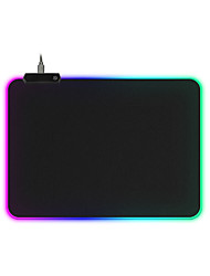 cheap -RGB Gaming Mouse Pad Large Mouse Pad Gamer Led Computer Mousepad Big Mouse Mat with Backlight Carpet For keyboard Desk Mat Mause 250*350*4
