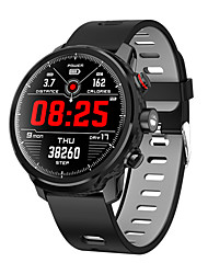 cheap -Smartwatch Digital Modern Style Sporty Silicone 30 m Water Resistant / Waterproof Heart Rate Monitor Bluetooth Digital Casual Outdoor - Green Red Gray