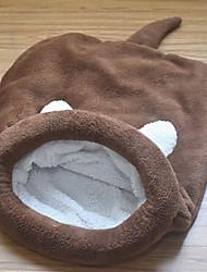 Недорогие -Коты Кровати Кровать пещеры обниматься Подкладки Плюшевая ткань Контрастных цветов Розовый Серый Кофейный