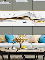 cheap -Prints - Landscape Aluminum Alloy Illustration Wall Art