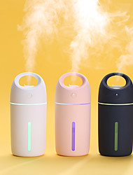 cheap -1Pcs Multi-Function Humidifier USB Mini Seven-color Lights Incense Incense Mute air Purification Water Replenishing Humidifier 3 Colors 280 ML