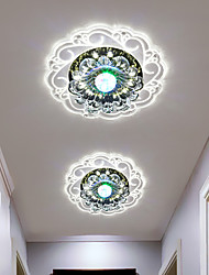 cheap -2-Light 20 cm Multi-shade Color Gradient Flush Mount Lights Acrylic Crystal Painted Finishes LED Generic