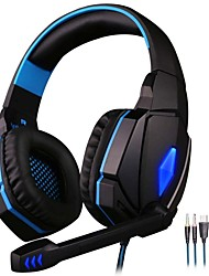 cheap -KOTION EACH G4000 Gaming Headset Stereo Headphones with Microphone LED Light Best casque for Computer PC Gamer Fone De Ouvido