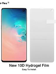 Недорогие -новая 10d нано мягкая ТПУ гидрогелевая пленка для Samsung Galaxy S10 Lite S10 Plus S9 S8 Note 9 Примечание 8 полный экран защитная пленка