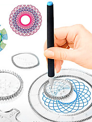 cheap -Drawing Toy Drawing Tablet Spirograph Design Set Painting Hand-made PP+ABS ABS+PC Kid's Children's All Toy Gift 500 pcs