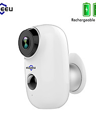 cheap -Hiseeu Wire-Free Rechargeable Battery CCTV Wifi IP Camera Outdoor IP65 Waterproof Home Security Camera
