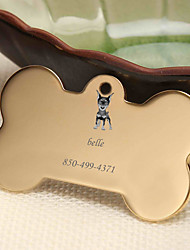 cheap -Personalized Customized Dobermann Dog Tags Classic Gift Daily 1pcs Gold Silver Rose Gold