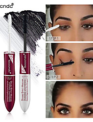 cheap -Brand Ibcccndc Double Head 4D Mascara Long Thick Eyelash Growth Liquid Waterproof Not Blooming Long-Lasting Eye Makeup