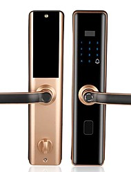 cheap -Factory OEM 31 Aluminium alloy lock / Fingerprint Lock / Intelligent Lock Smart Home Security System RFID / Fingerprint unlocking / Password unlocking Household / Home / Office / Bedroom Security