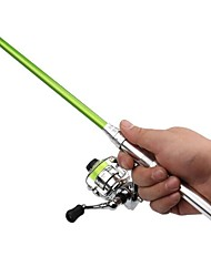 cheap -Fishing Rod and Reel Combo Ice Fishing Rod 148 cm Portable Heavy (H) Sea Fishing Ice Fishing Freshwater Fishing